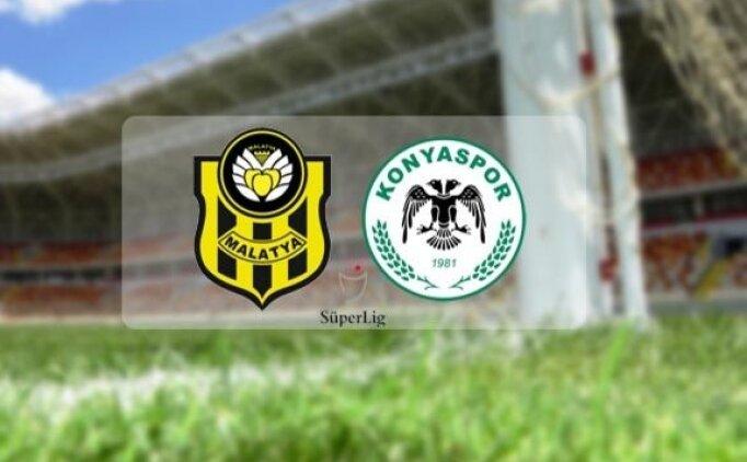 Konyaspor Yeni Malatyaspor maçı canlı hangi kanalda? Konyaspor Yeni Malatyaspor maçı saat kaçta?