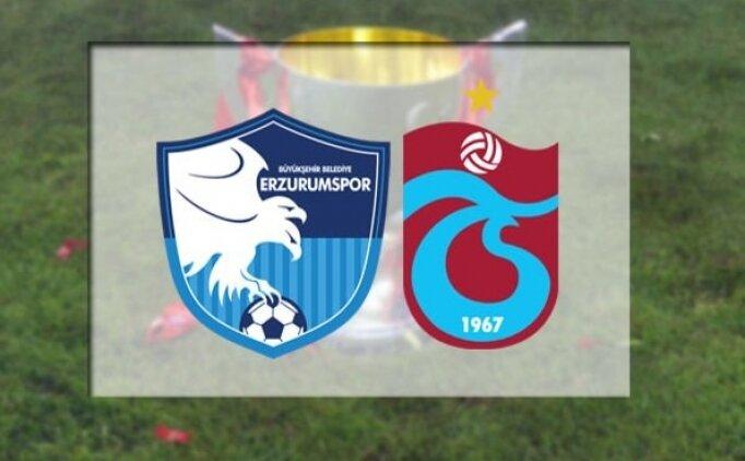 BB Erzurumspor Trabzonspor canlı hangi kanalda? Erzurumspor Trabzonspor maçı saat kaçta?