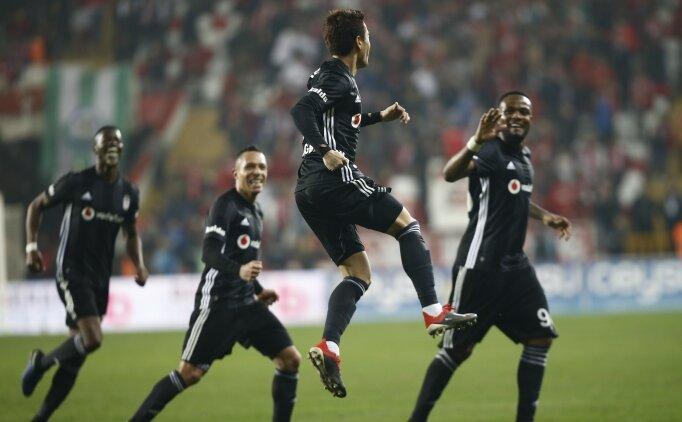 Antalyaspor 2-6 Beşiktaş maçı özeti , Kagawa golleri izle