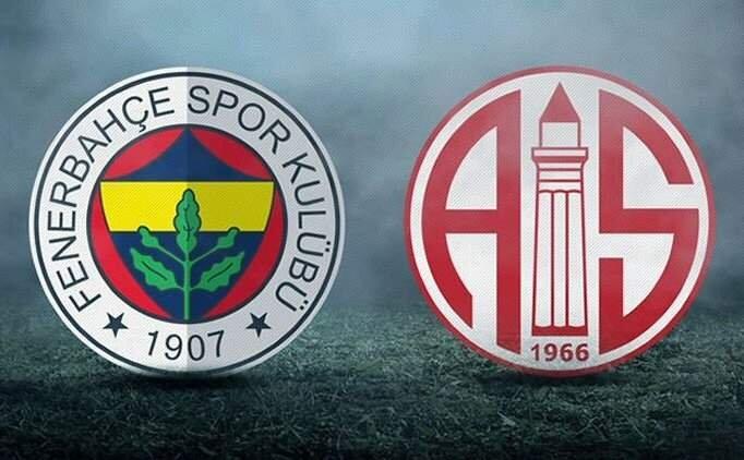 Fenerbahçe Antalyaspor maçı özet izle(beIN Sports)