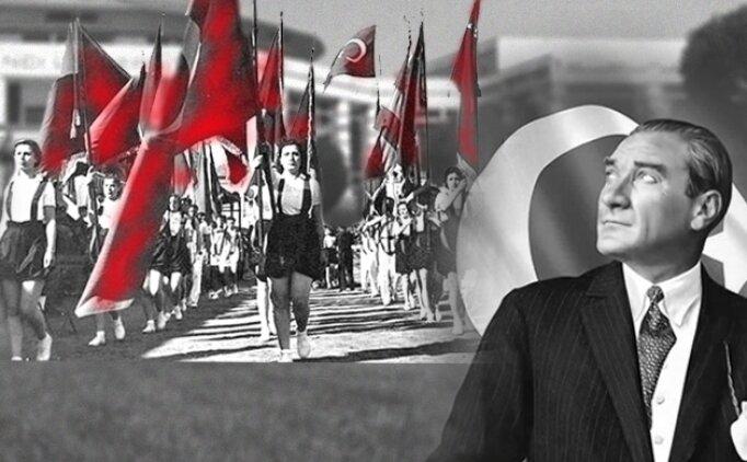 19 Mayıs Atatürk resimleri, Atatürk'ü Anma Gençlik ve Spor bayramı mesajları