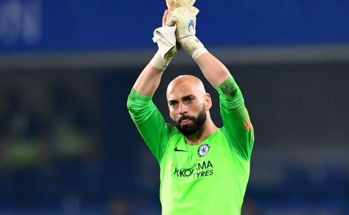 Chelsea'den Willy Caballero'ya bir yıllık yeni sözleşme!