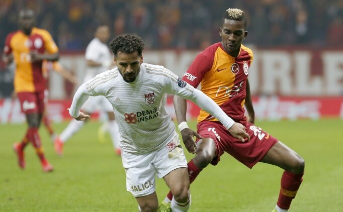 Galatasaray'dan Sivas'a büyük üstünlük