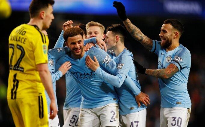 Manchester City'den tarihi skor; 9-0