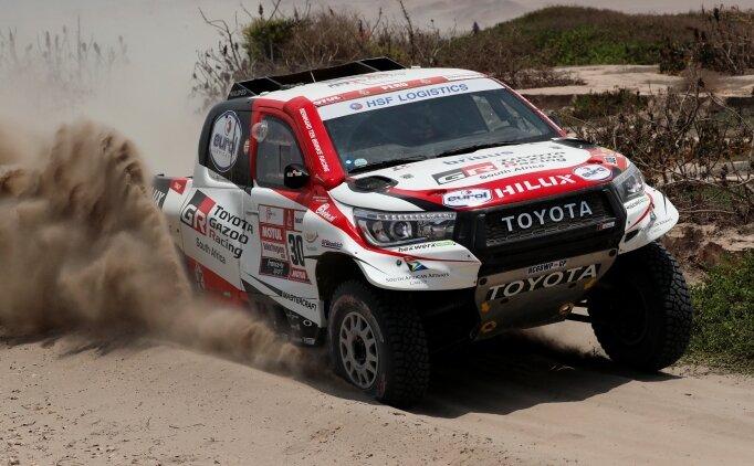Dakar'da 4. etabı Naser el-Attiyah kazandı