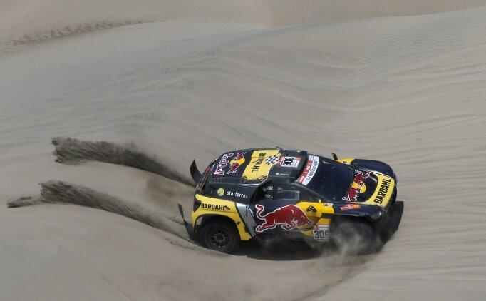 Dakar Rallisi'nde 6. etabı Sebastien Loeb kazandı