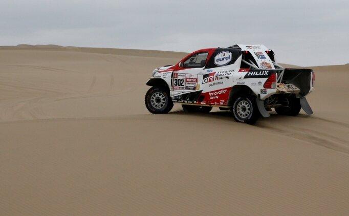 Dakar Rallisi'nin 9. etabı Katarlı Nasser'in