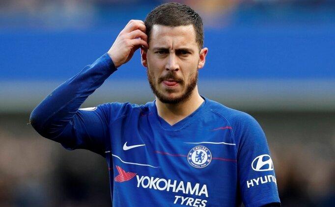 Chelsea 1 puanı Eden Hazard ile kurtardı