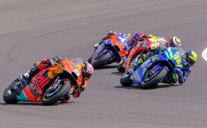 MotoGP'de heyecan ABD'de sürecek