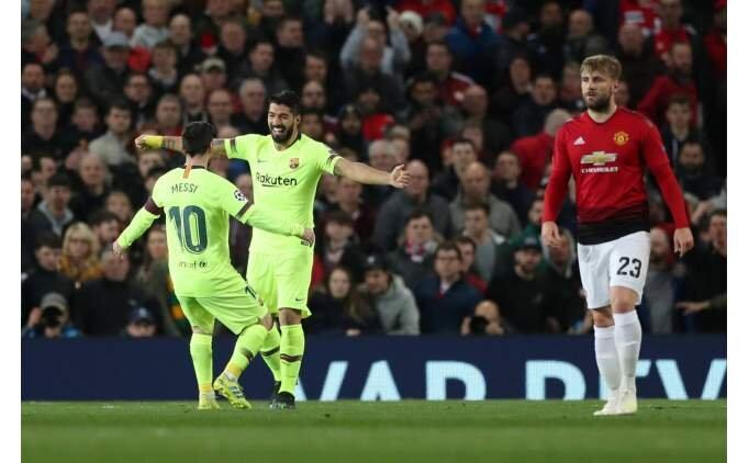 Barcelona, Old Trafford'da avantajı kaptı!