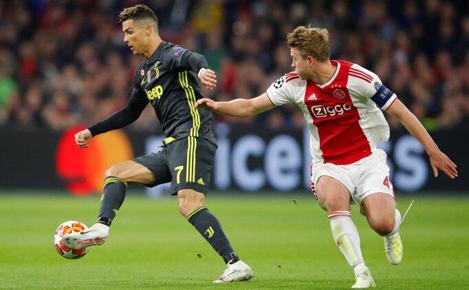De Ligt: 'Ronaldo yırtıcı bir hayvan!'