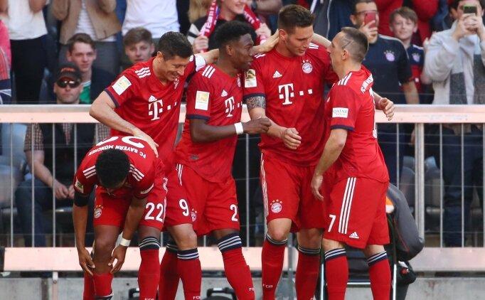 Bayern Münih, 10 kişi yakaladı ve kazandı