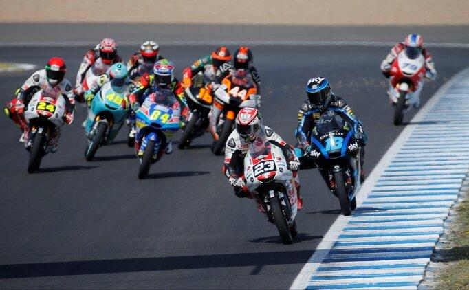 MotoGP İspanya'da kazanan Marquez!