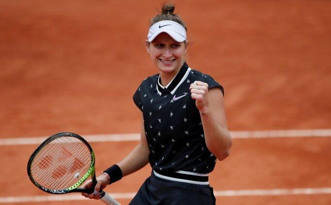 Roland Garros'ta kadınlar finalinin adı kondu