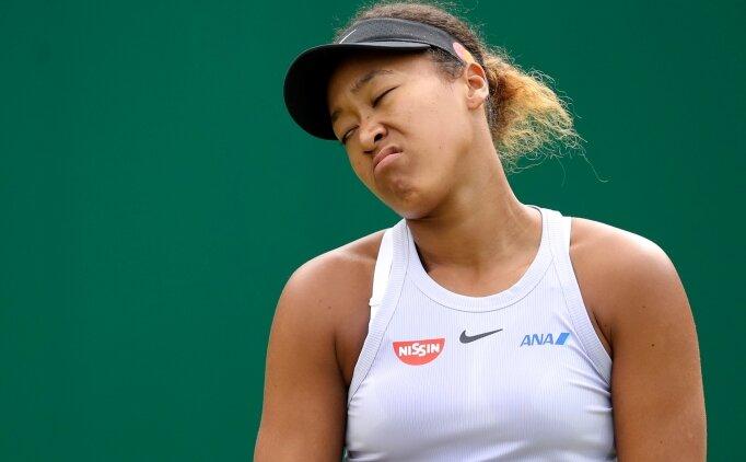 Naomi Osaka'nın düşüşü sürüyor! 2. turda elendi
