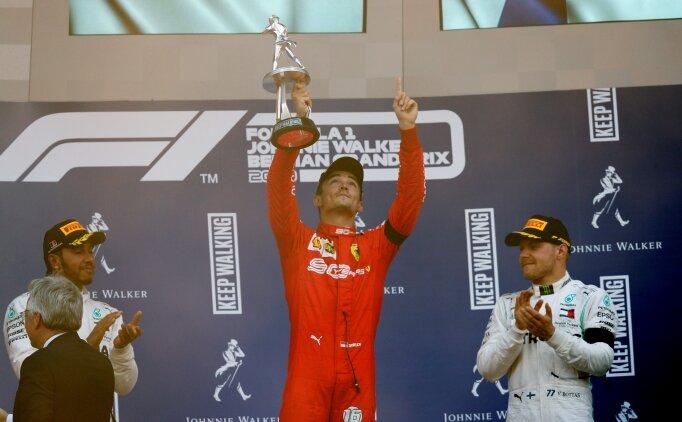 Leclerc tarih yazdı! Ferrari tarihinin en genç kazananı