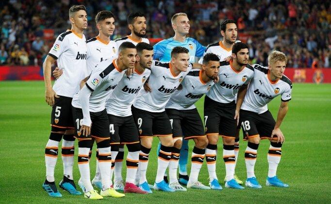Valencialı futbolculardan yönetime sessiz tepki!