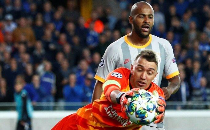 Galatasaray'ın tesellisi; Fernando Muslera