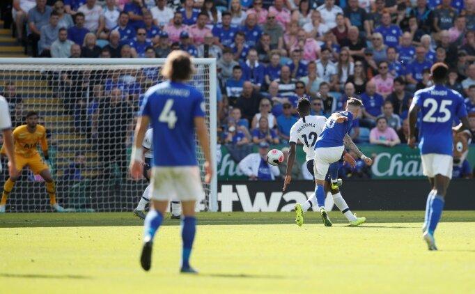Leicester, Tottenham'ı eli boş gönderdi