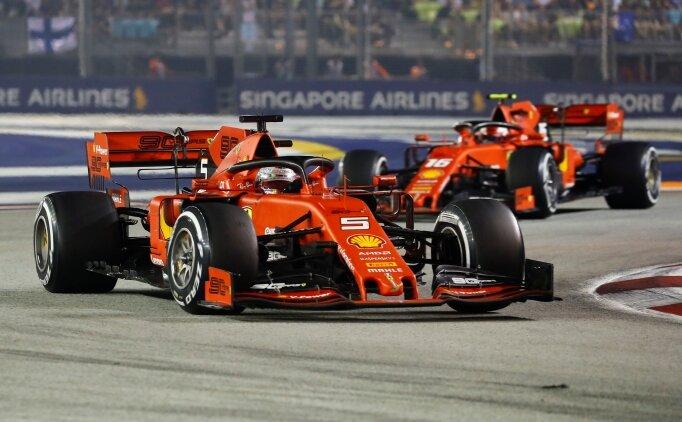 At şahlandı! Ferrari duble yaptı