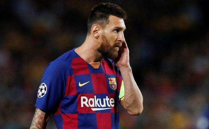 Messi: 'Barça'dan değil İspanya'dan da gitmek!'