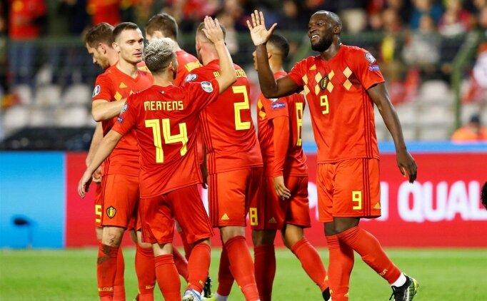 Belçika gol oldu yağdı: 9-0!