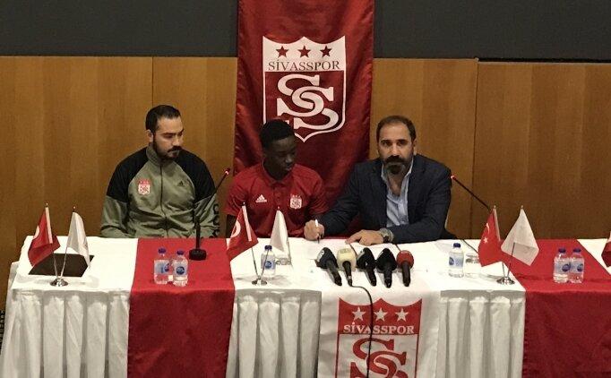 Sivasspor'da Diabate imzayı attı