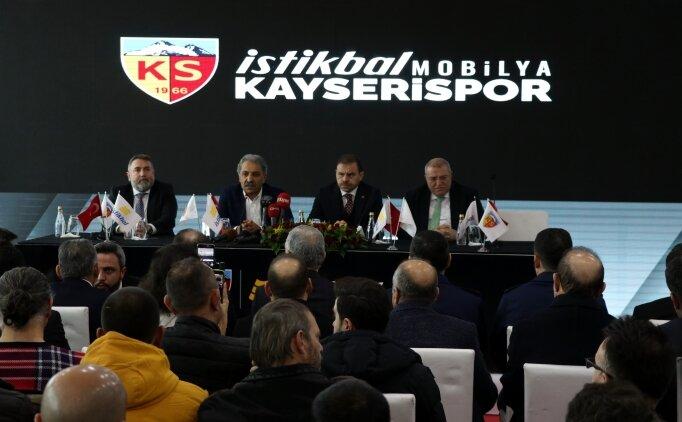 Kayserispor'un ismi değişti