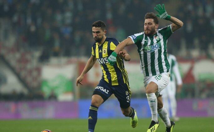 Bursaspor'a Tunay uzun süre sahalardan uzak kalabilir