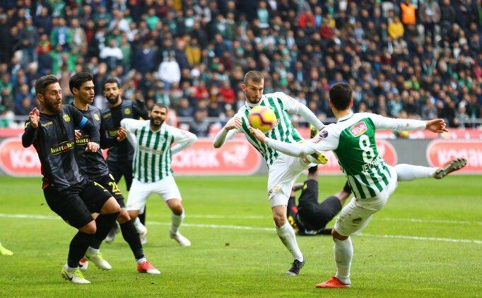 Konyaspor'un serisini Malatyaspor bitirdi