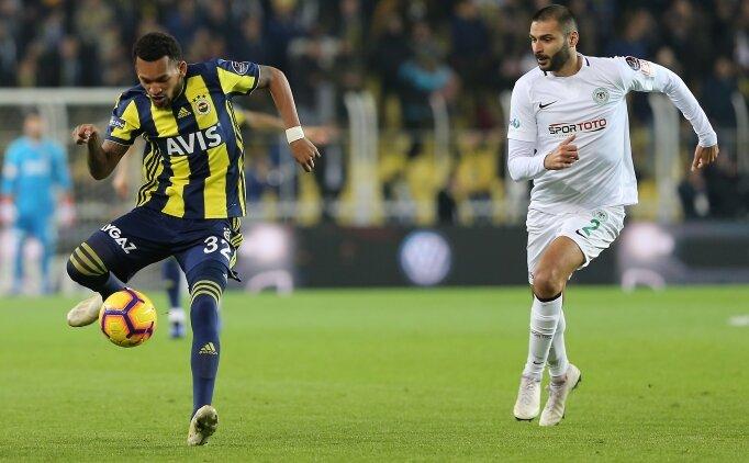 Fenerbahçe, 10 kişi kalan Konyaspor engelini aşamadı!