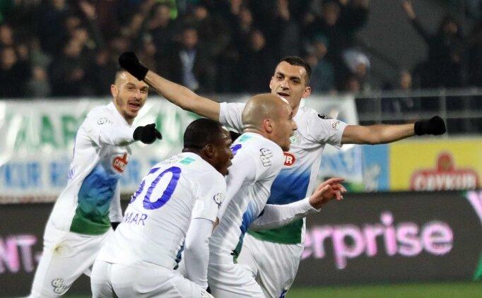 Rizespor, Malatyaspor'u bozguna uğrattı! 3 gol...