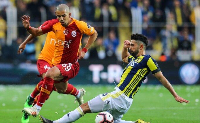 Galatasaray, en çok maçı Fenerbahçe'yle yaptı