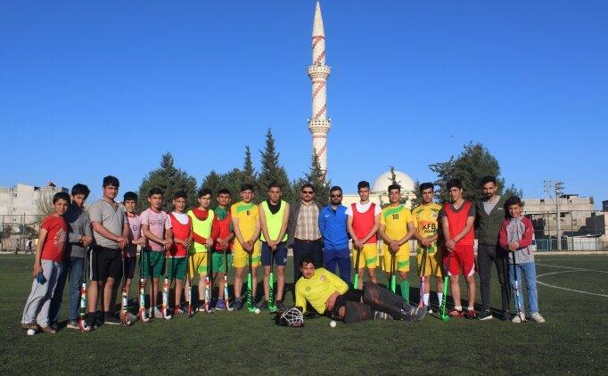 Suruçlu hokeycilerin hedefi Avrupa şampiyonluğu