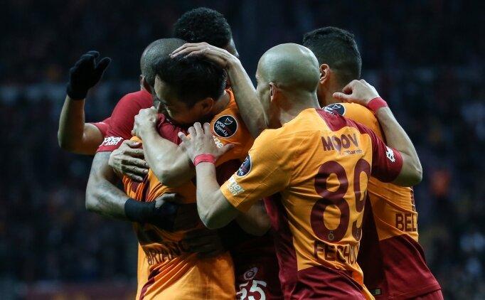Galatasaray zirve takibine devam ediyor!