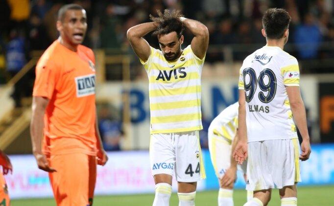 Alanyaspor maçında Fenerbahçe'yi yıkan rakam