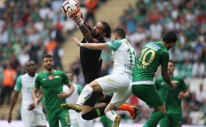 Bursaspor ve Akhisarspor'u 1 puan sevindirmedi!