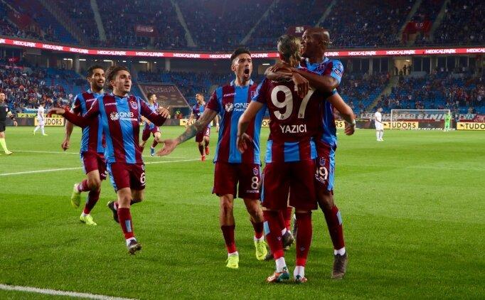 6 gollü maçta Trabzonspor, Avrupa'yı garantiledi!