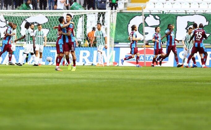 Konyaspor ve Trabzonspor, puanları paylaştı