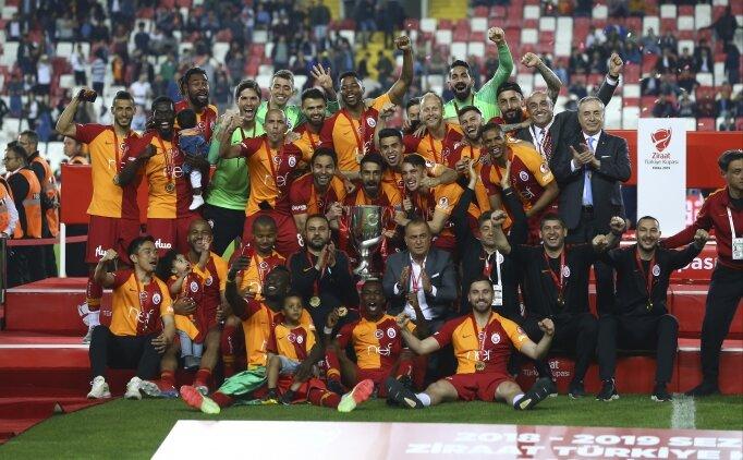 Cumhurbaşkanı Erdoğan'dan Galatasaray'a tebrik!
