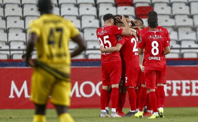 Antalyaspor, Avrupa Ligi aşkına kazandı!