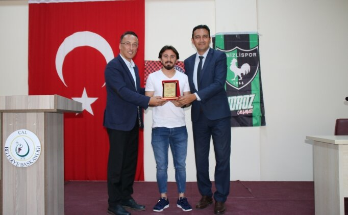 Denizlisporlu Recep Niyaz, gençlerle buluştu!