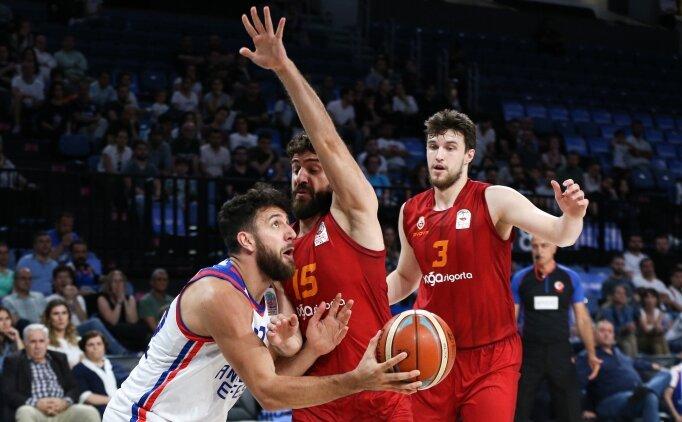 Anadolu Efes-Galatasaray Doğa Sigorta eşleşmesinde ikinci randevu