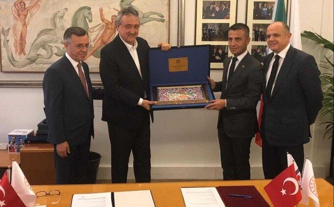 Yüzmede Türkiye ile İtalya arasında iş birliği