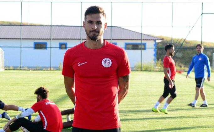 Antalyaspor'da Ufuk Akyol'un hedefi ilk 11'e girmek!