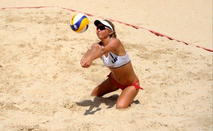 22 Yaş Altı Plaj Voleybolu Avrupa Şampiyonası başladı!