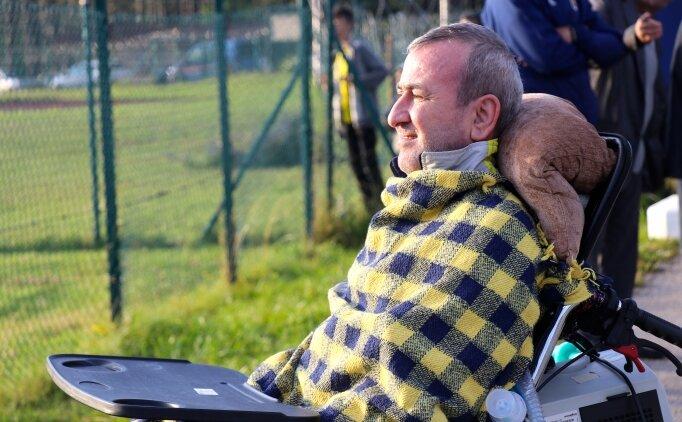 ALS hastasının 'Fenerbahçe aşkı' engel tanımadı