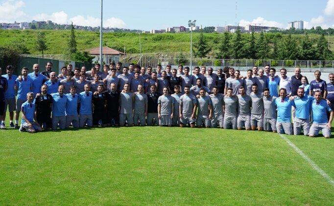 Trabzonspor'da birinci kamp etabı tamamlandı!