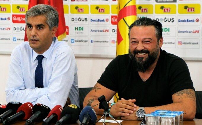 Eskişehirspor Başkanı Osman Taş: 'Zarar veriyorsam istifa...'