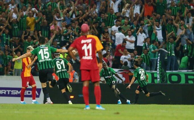 Galatasaray, 'kabusuyla' ligi açtı!